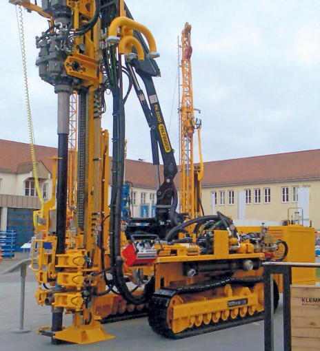 Micropiling Machine Details Machine Dimensions And